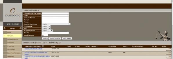 Caselogic – Legal Files Management System