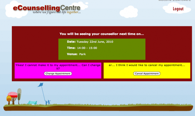 Online Counselling Portal